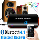 Wireless Bluetooth 4.1 Audio Stereo Music Receiver 3.5mm Car Aux Adapter Call