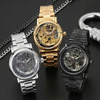 FORSINING Automatic Mechanical Watch Mens Luxury Stainless Strap Dress Watches