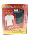 Mens Thermal Underwear Short Sleeve Vest / T-shirt Base Layer White, Grey, Blue