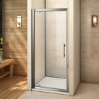 New Pivot Hinge Shower Door Enclosure and Tray Glass Screen 700 760 800 900 1000