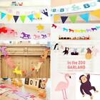 Christmas Baby Shower Bunting Birthday Party Banner Garland Photo Props Decor