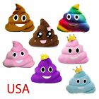 13 Inch Poop Poo Family Emoji Emoticon Pillow Stuffed Quality Plush Toy Home 32