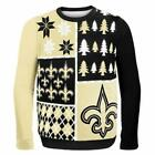 NFL New Orleans Saints Boys Youth Ugly Sweater $25.0 USD on eBay