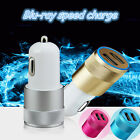 Car Charger 2 Port Adapter For Smart Mobile Cell Phone Samsung Dual USB 3.1A