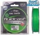 Dogtooth Fluidcast 4 Carrier Braid Hivis Green 300m Spool Fishing Line Dog Tooth