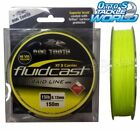 Dogtooth Fluidcast 8 Carrier Braid Hivis Yellow 150m Spool Line Dog Tooth BRAND