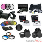 52mm 55mm 58mm 62mm 67mm 72mm 77mm UV CAP HOOD CPL FLD ND Graduated Lens Filter