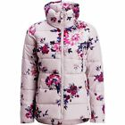 Joules Womens Florian Padded Jacket in Champagne Floral - Sizes 8 to 18