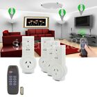 Smart Remote Control Socket Switch Wireless Home AC Power AU Plug Easy Off