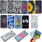 Rubber Patterned Painted Silicone Soft TPU Cute Cover Case For Huawei Lenovo LG