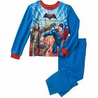Batman VS Superman 4-5 6-7 S 8 M 10 12 L Boys Two Piece Flannel Sleepwear New