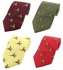 Flying Pheasants Country Silk Ties