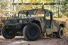 1987 AMC GENERAL MILITARY HUMVEE HUMMER H1 4X4 STREET LEGAL RARE PICKUP M998