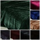 Chezmoi Collection Heavy Thick One Ply Korean Style Faux Mink Oversized Blanket image