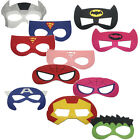 Kids Superhero Masks Marvel DC Spiderman Batman Avengers