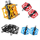 Pair 9/16'' Road Mountain Bike BMX MTB Platforms Pedals Aluminum Sealed Bearing