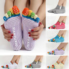 HOT Ladies Yoga Socks Sport Fitness Pilates Socks Five Toe No-Slip Massage Warm