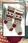 Annie's Woolens Christmas Stocking Knitting Patterns- Well Charted, Personalize