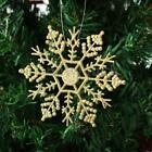 12pcs Glitter Snowflakes Christmas Xmas Tree Ornaments Party Home Hanging Decor