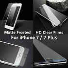 9H Frosted Matte Anti-Glare Tempered Glass Film Screen for iPhone 6/6s/7 Plus 5s