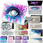 "Creative Paints Hard Rubberized Laptop Case Cover For Macbook Pro 13""+Matched KB"