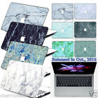Hard Rubberized Marble Paint Case Cover for Macbook Pro 13 Touch Bar A1706/A1708