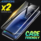 2x Full Screen Coverage 3D Tempered Glass Protector For Samsung Galaxy S7 Edge