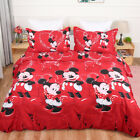 Mickey Mouse Minnie Duvet Cover King/Double Size 100%Cotton Quilt Cover Bed Set
