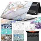 Marble Painting Hard Laptop Logo Cut-Out Case Cover for Macbook Pro 13 Touch Bar