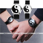 Punk Unisex Couple's The Black & White Eight Diagrams Quartz Wrist Watch 1pc/2pc