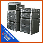 ABS Rack Case | 2-10u | Flight Case | Equipment Case | DJ Case | Amp Case | PA