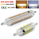 Lot 10/20x Silicon R7S 78mm 118mm SMD LED Flood Light White Bulb Lamps & Halogen