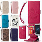Luxury Flip Love Heart Pattern Leather Stand Card Wallet Case Cover For Phone