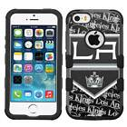 LA Los Angeles Kings Rugged Impact Armor Case for iPhone 5s/SE/6/6s/7/Plus $19.95 USD on eBay