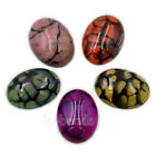 Natural Gemstone Oval Cabochon CAB Flatback Semi Precious Diy Jewelry Making