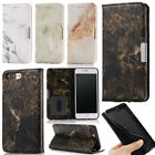 Luxury Flip Leather Marble Pattern Magnetic Card Wallet Case Cover for phone