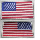 Usa American Flag Patches 3.5