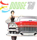 1958 Dodge Custom Royal - Promotional Advertising Poster $32.99 USD on eBay