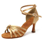 Women Girl's Ballroom Tango Latin Dance Dancing Shoes 5CM heeled Salsa Colors