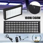180W 360W Dimmable Full Spectrum LED Aquarium Light  Grow Coral Reef Fish Tank