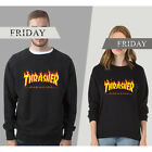 Mens Hoodie Sweater Hip-hop Skateboard Thrasher Women Pullovers Sweatshirts Coat