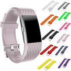 New Silicone Wrist Smart Watch Bands Bracelet Replacement For Fitbit Charge 2