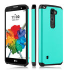 For LG Stylus 2 Plus/Stylo 2 Plus Case Shockproof Armor Hybrid Rubber Back Cover