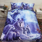 Butterfly Duvet Doona Quilt Cover Set Single/Double/Queen/King Bed Size Animal