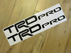 TRD PRO DECALS (PAIR) CUSTOM TOYOTA TRD PRO VINYL DECAL TOYOTA RACING DECAL