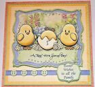 Handmade Greeting Card 3D Easter With Baby Chicks