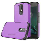 For Motorola Moto G4 Play /E3 Case Hard Armor Hybrid Rugged Rubber Phone Cover