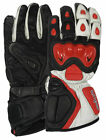 NEW TUFF GEAR MOTORBIKE LEATHER GLOVES SIZES S-XXL FOR MEN