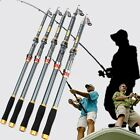 Telescopic Carbon Fiber Fishing Rod Spinning Sea Fishing Pole Tackle 2.1m-3.6m