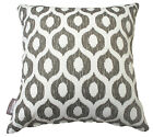 OUTDOOR INDOOR THROW CUSHION COVERS VROOM GREY CONTEMPORARY PILLOW 41cm SALE